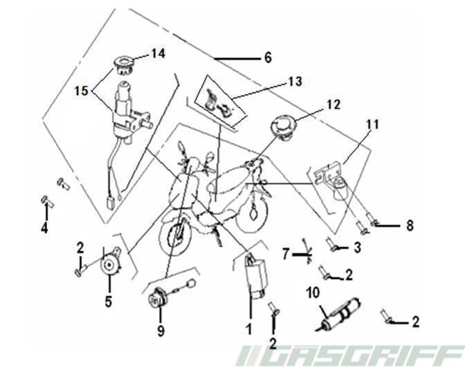 Generic Ersatzteile 50cc Race Gt 50