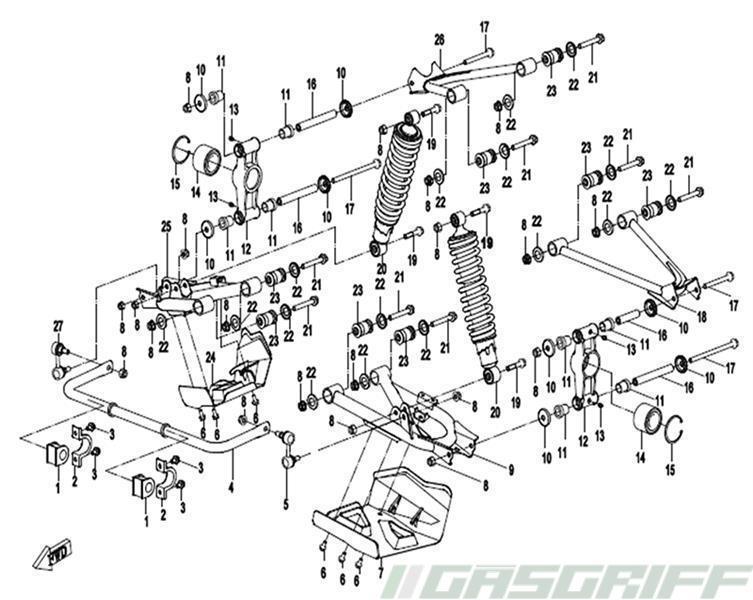 Cfmoto Ersatzteile 800er Modelle Cforce 800 Terralander Bis 2017