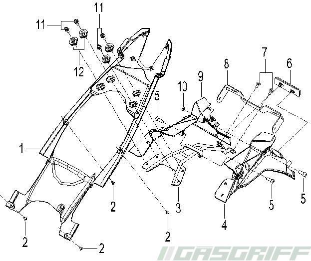 Ksr Moto Ersatzteile 125cc Grs 125