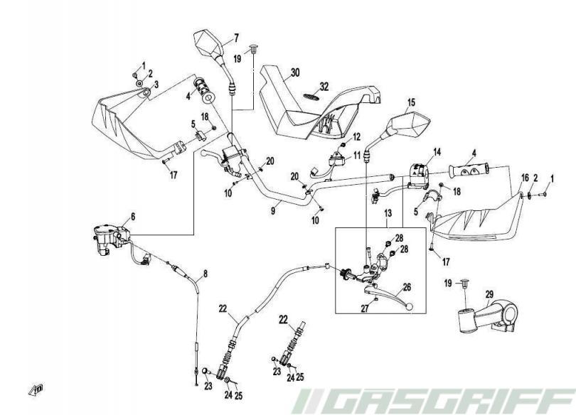 Ksr Moto Ersatzteile 125cc Tr 125 Sm